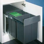 SELECT Bio Trio Maxi 40 DT inbouw prullenbak
